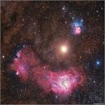 Astronomy Picture of the Day: Mars Between Nebulas