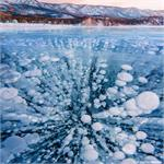 Astronomy Picture of the Day: Methane Bubbles Frozen in Lake Baikal