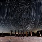 Astronomy Picture of the Day: Star Trails and the Bracewell Radio Sundial