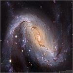 Astronomy Picture of the Day: NGC 1672: Barred Spiral Galaxy from Hubble