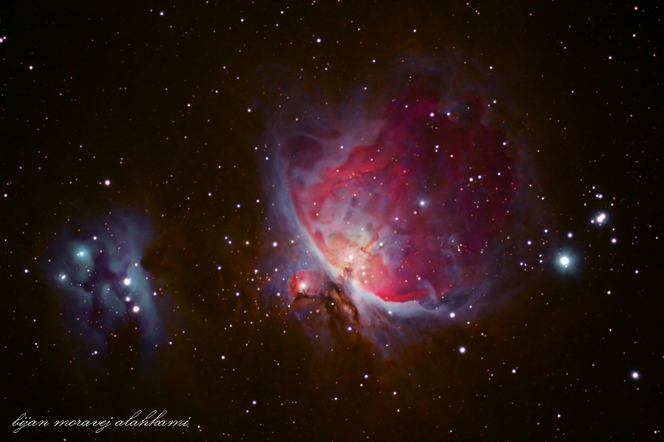 Orion Nebula m42 &running man nebula