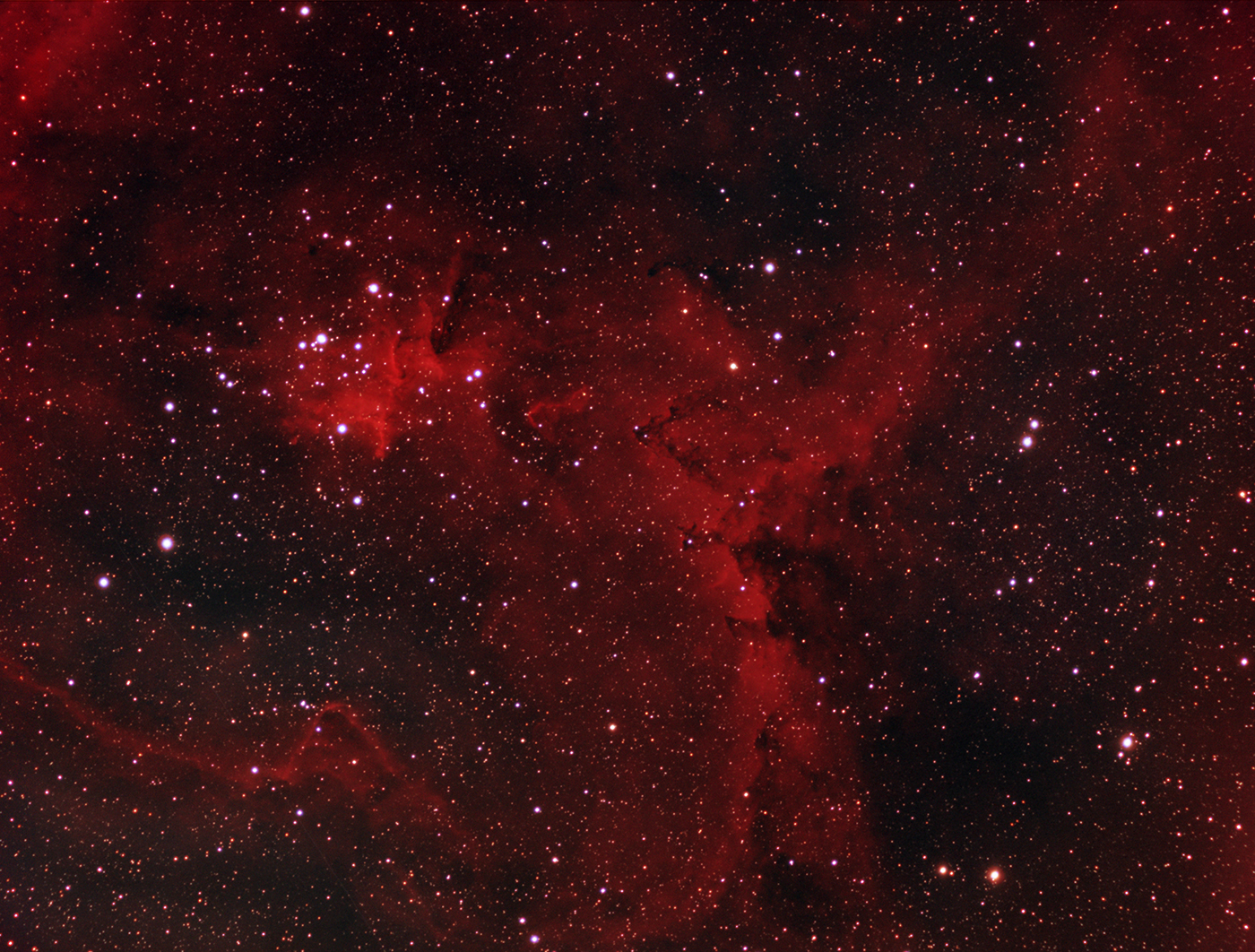 Melotte 15 ( central region of IC1805)